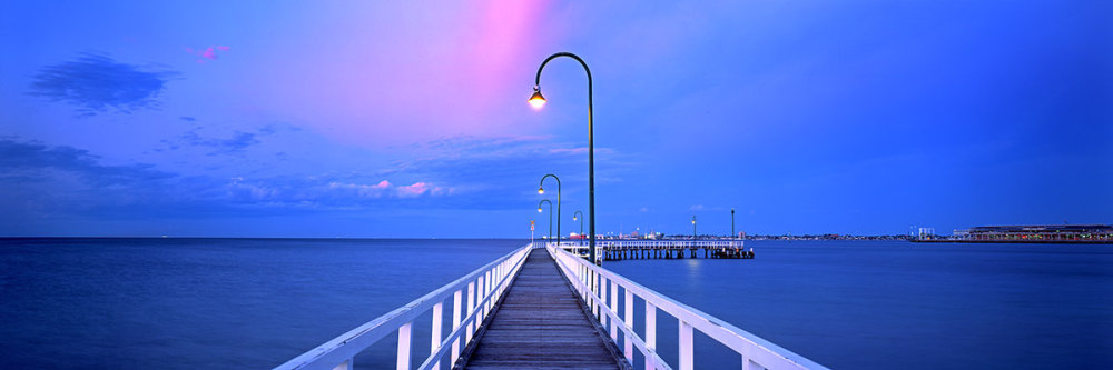 Morning Twilight, Lagoon Pier