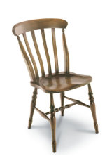 SF121 MEDIUM LATH BACK This is the Sidechair version of the Farmhouse design; these chairs were made in large quantities in Victorian times.