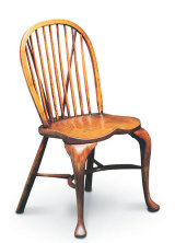 SF16  CABRIOLE LEGS - STICKBACK SIDECHAIR Earlier Stickbacks often had cabriole legs, and were usually reserved for 'best' rooms and parlours.