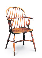 SF8 STICKBACK LOW CHAIR   The Low Bow, as its name implies, has a lower back and was often referred to as a ladies' chair.