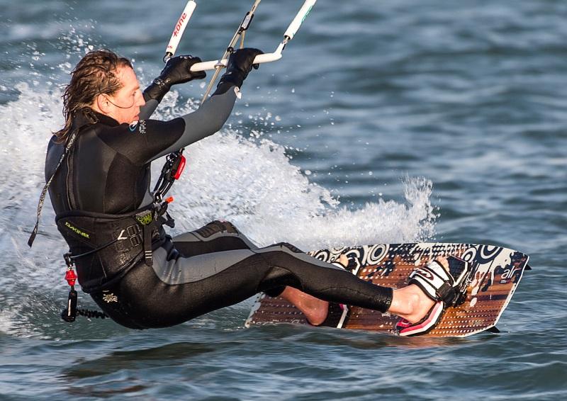 06 Kite Surfing by Ivor Toms