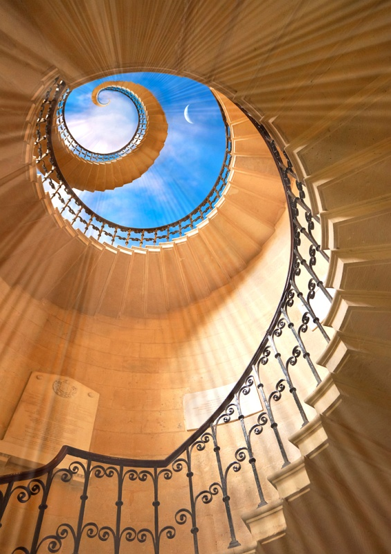 08 Stairway to Heaven by Ivor Toms