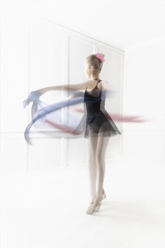 Ballet Dancer by Ivor Toms