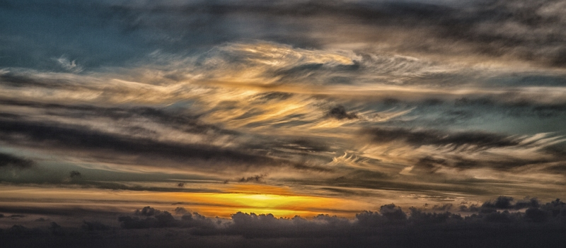 Evening Cloud over the Atlantic by Graham Lawrence, First Section B