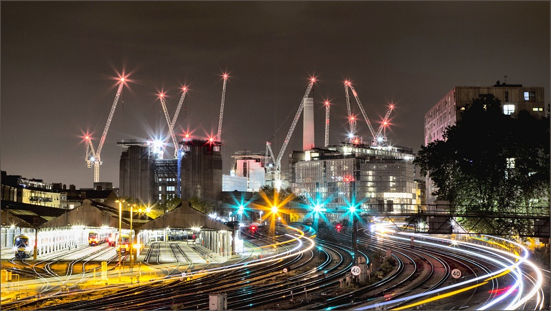 Station Lights by Graham Lawrence