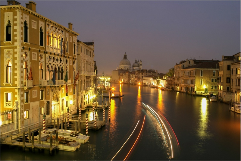 Venice By Night by Christa Bott