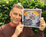 Chris Packham and Bobby the Brown Long Eared Bat© by A.S. Mills (Author) and Kate Wyatt (Illustrator)