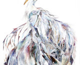Isis - Heron Limited Edition Print 68x50cm (Edition size 25) Also available in a smaller size (Edition size out of 10 only)