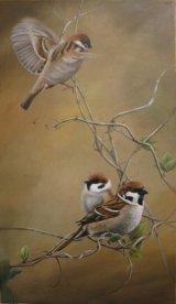 Tree Sparrows
