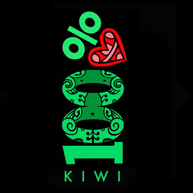 100% kiwi