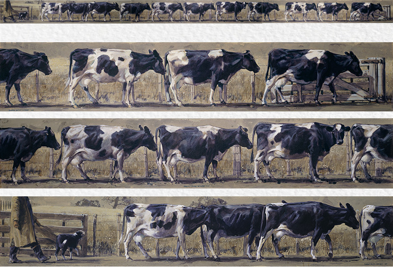 friesian frieze
