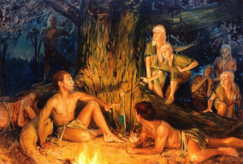 tekanawa and the faries