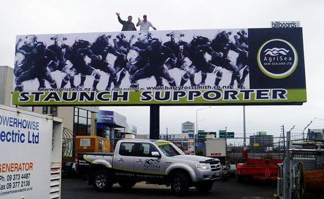 Ellerslie billboard