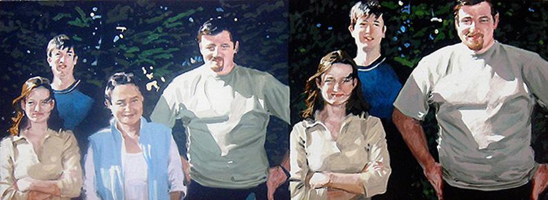 figure 5. stain. 2010. enamel & oil on board. 70 x 21 cm