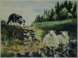 'He's Behind You'        365x270mm        £35 inc P&P