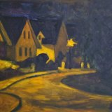 141-LINDVILLE AT NIGHT
