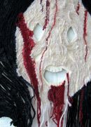 Detail of 'Face in horror film'