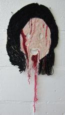 Face in horror film