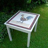 Cockerel table in Roman style