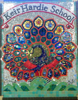 KEIR HARDY SCHOOL-Mosaic commission