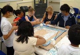 Redbridge mosaic FL 026