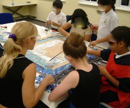 Redbridge mosaic FL 030