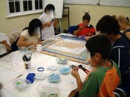 Redbridge mosaic FL 041