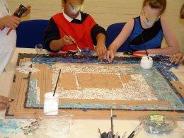 Redbridge mosaic FL 043