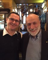 Zoltan and Carlo Petrini, Founder and President of Slow Food International