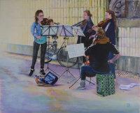 String Quartet  in Underpass
