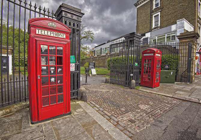 WS1 London Telephone Boxes