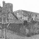 005. Ruthin Castle Pencil Sketch