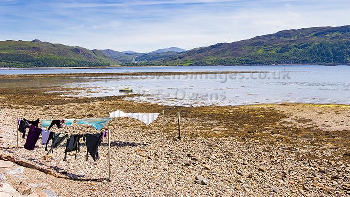 009 Washing in Lochcarron