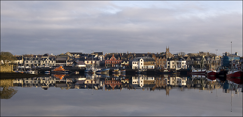 Stornoway harbour- calm