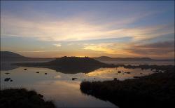Bragar sunset and Dun