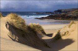 Eoropie dunes in winter