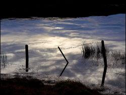 Frosty loch by the Storr