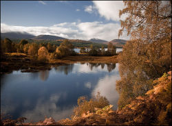 Glengarry in Autumn colours