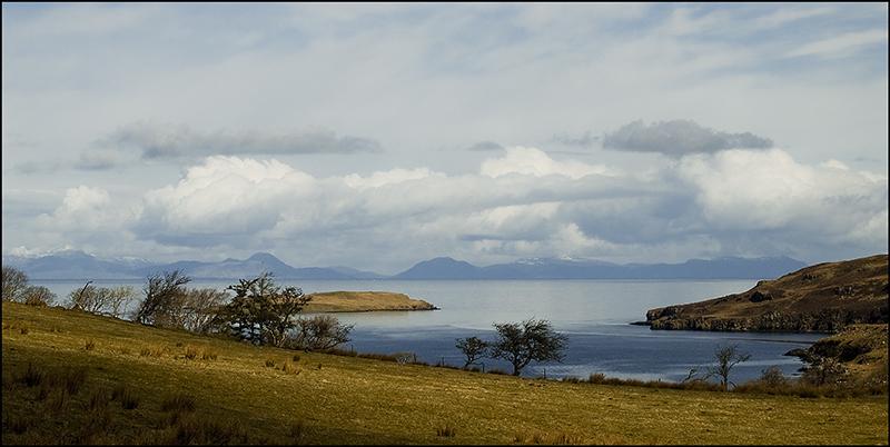 South Harris from Skye