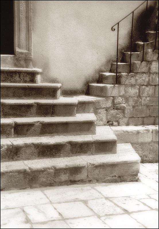 Hvar steps, Croatia