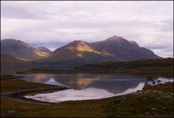 Liathach, Loch Shieldaig and Beinn Eighe
