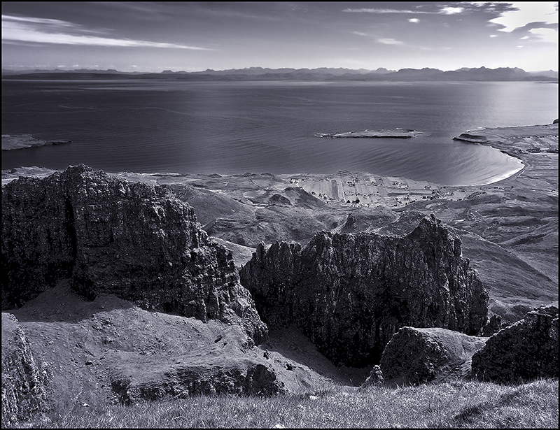 The Quiraing, Digg and Staffin Bay, Skye