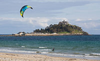 Kite Surfer / St Michael's Mount