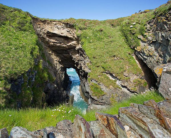 Lundy Hole