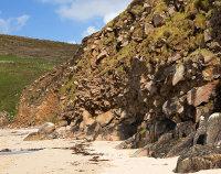 Portheras Cove Cliff