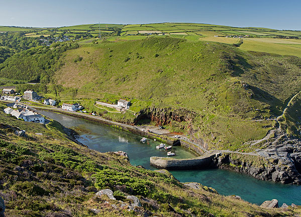 Boscastle Harbour - 1
