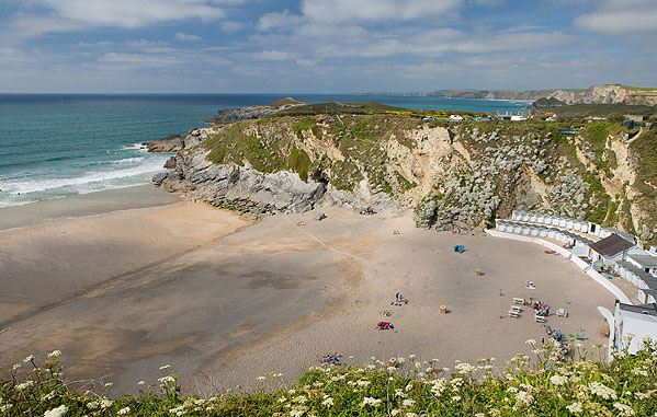 Lusty Glaze Beach - Newquay