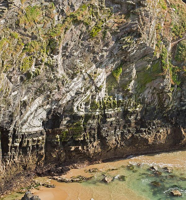 Angular Recumbent Fold - Trerathick Cove (S12)
