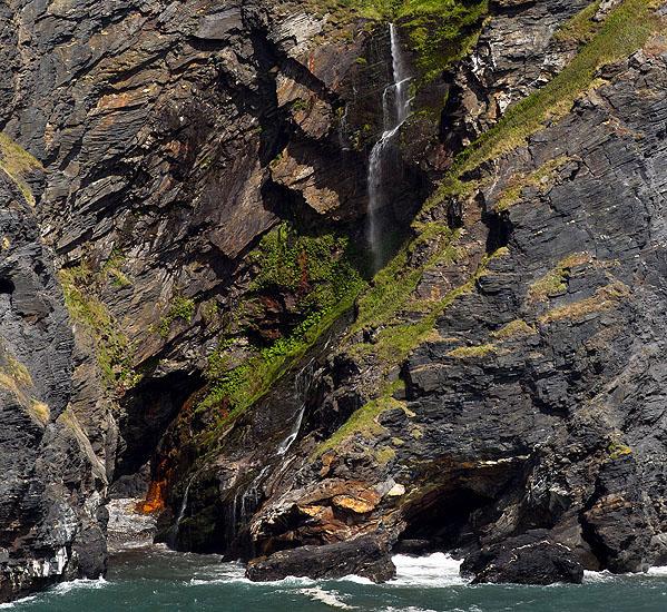 Waterfall / Caves - Pentargon Cove (S3)