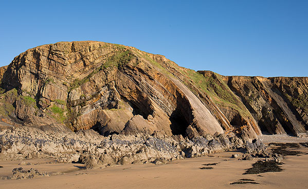 Anticline - Bude (S6)
